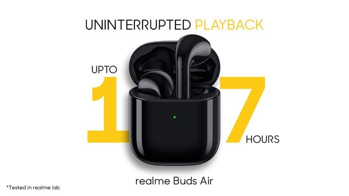Realme Officially Launches Its First Truly Wireless Earbuds 'Buds Air'