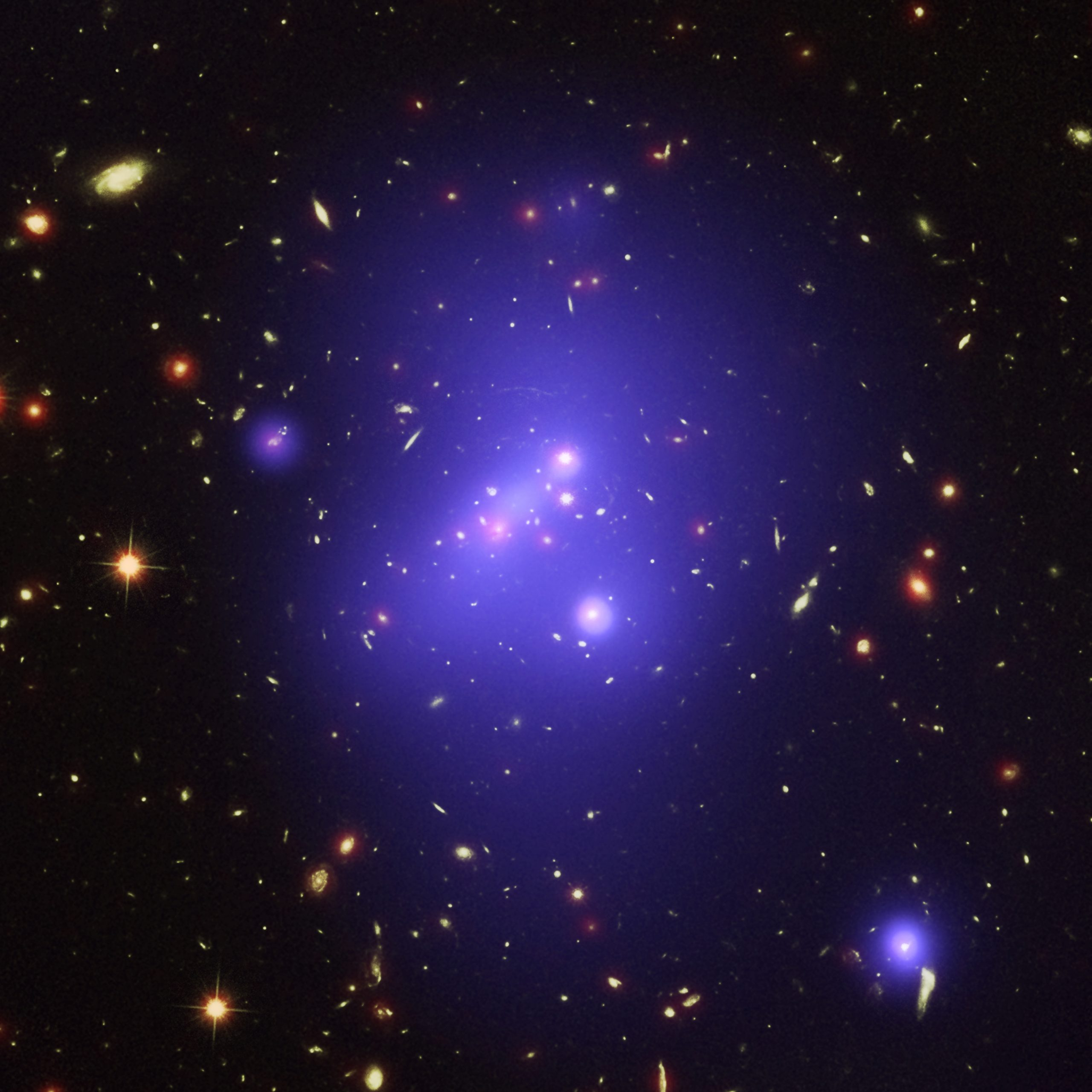 Hubble-Perceives-Compact-Known-Dark-Matter-Clusters