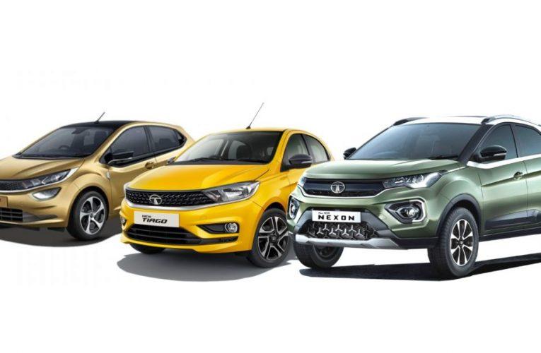 Tata Motors Unveils Tiago, Tigor And Nexon Facelifts, Prices Start At ₹ 6.95 Lakh